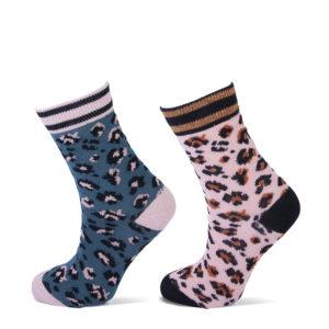 kindersokken leopard
