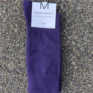 paarse heren sokken