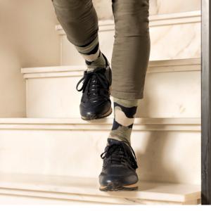 heren sokken camouflage