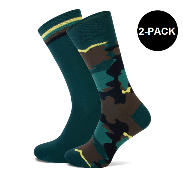 camouflage sokken