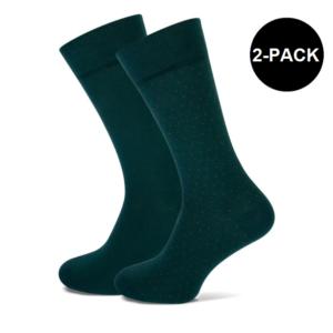 donkergroene sokken