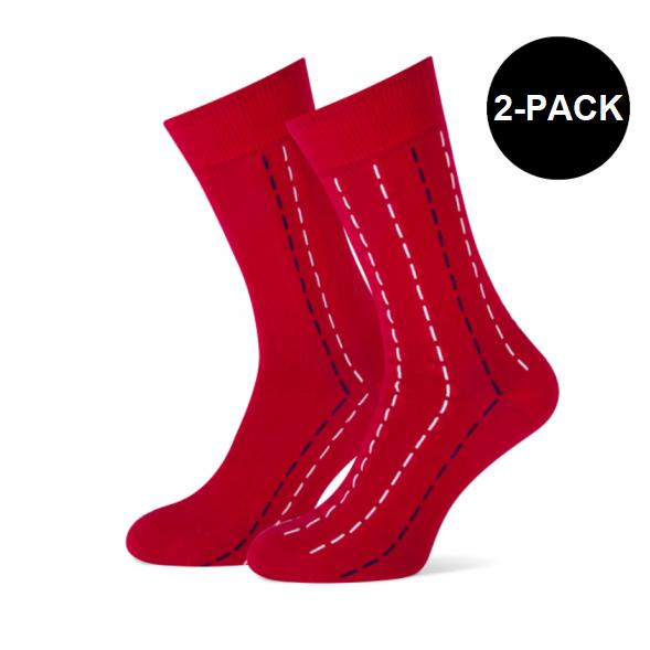 rode sokken