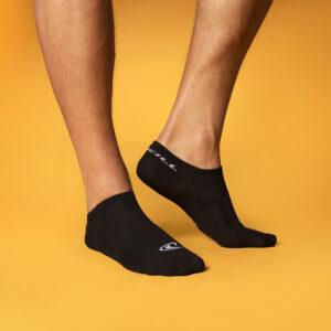 zwarte sneakersokken