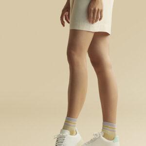 lila sokken