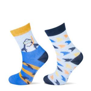 yellow moon sokken
