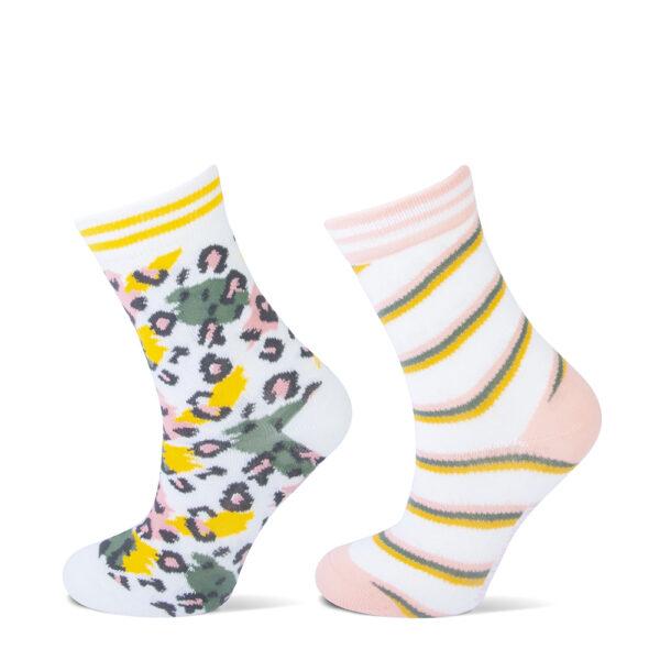 leopard kinder sokken