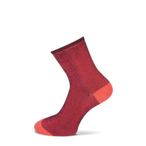 neon oranje sokken