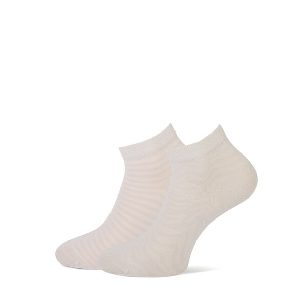 beige dames sokken