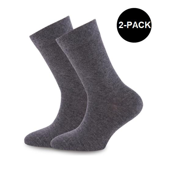 grijze dames sokken